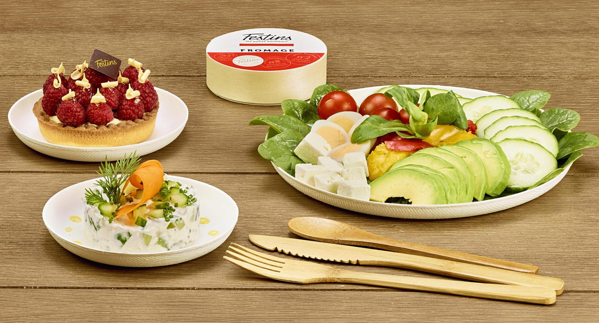 Plateau repas végétarien - Livraison ou à emporter - Bourgogne - Paris