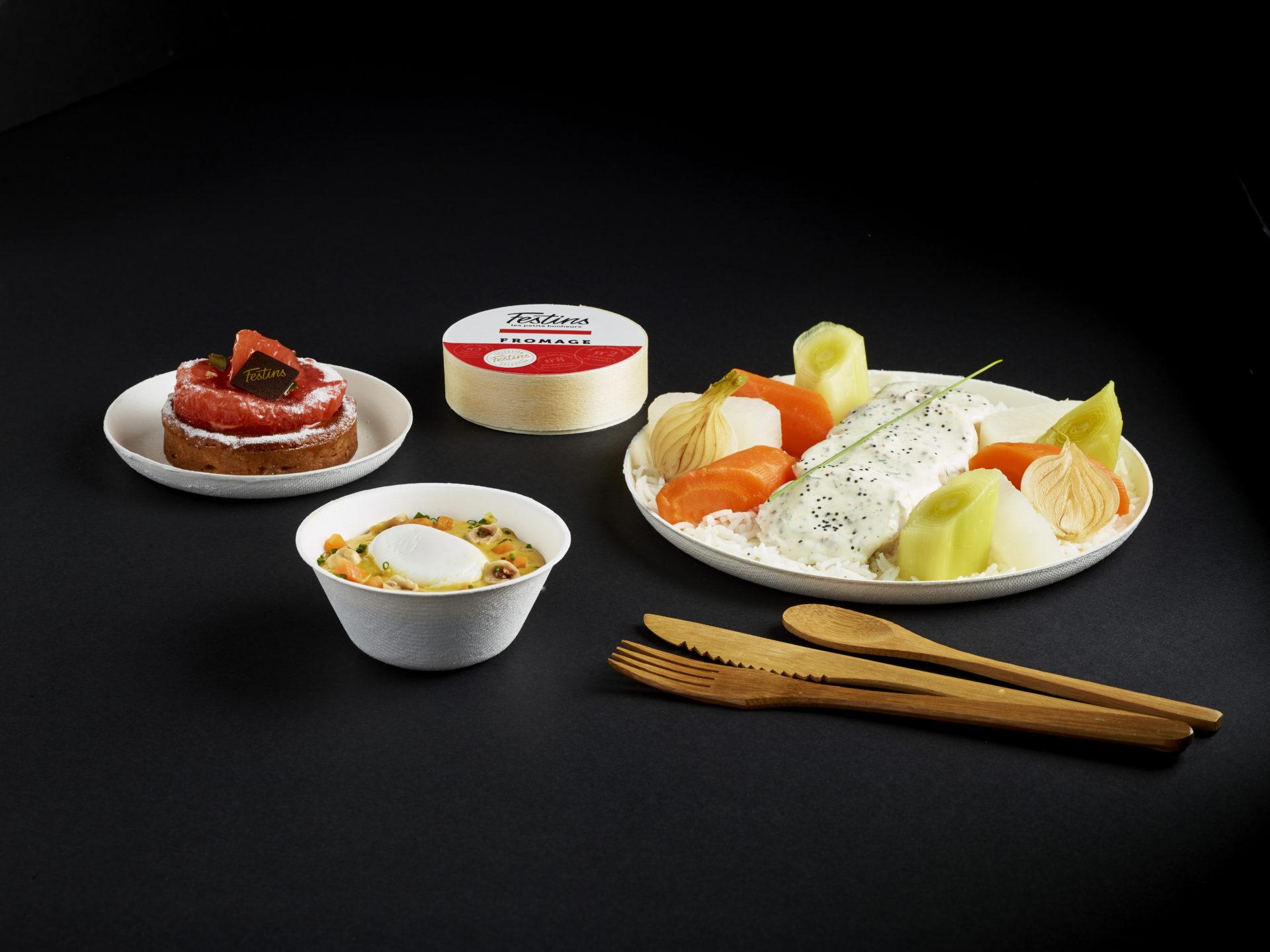 Plateau repas Volaille - Festins traiteur